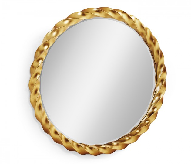 45'' Gilded Twisted Mirror