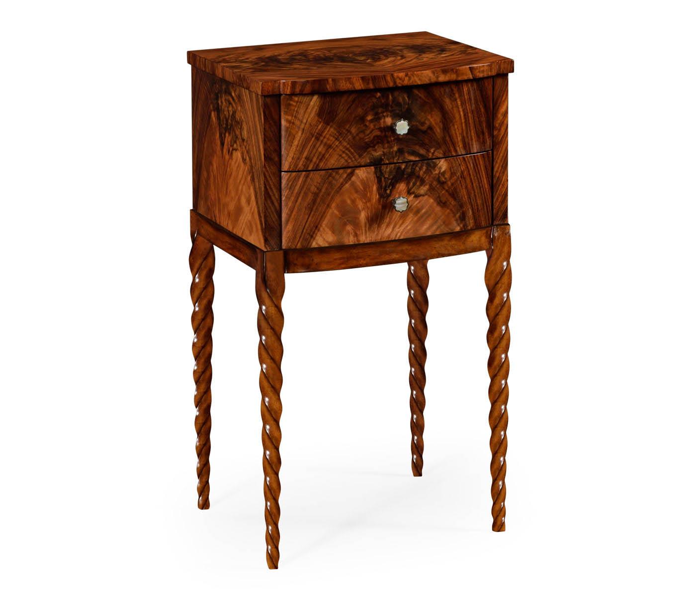 Barleytwist lamp table walnut barleytwist lamp table geotapseo Image collections