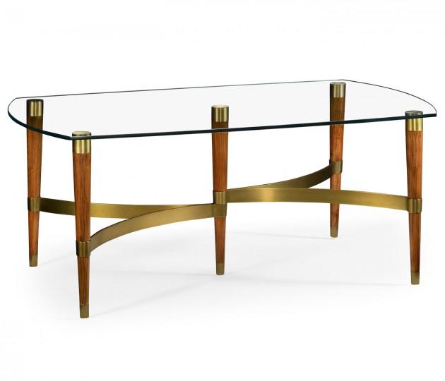 Hyedua & Glass Coffee Table