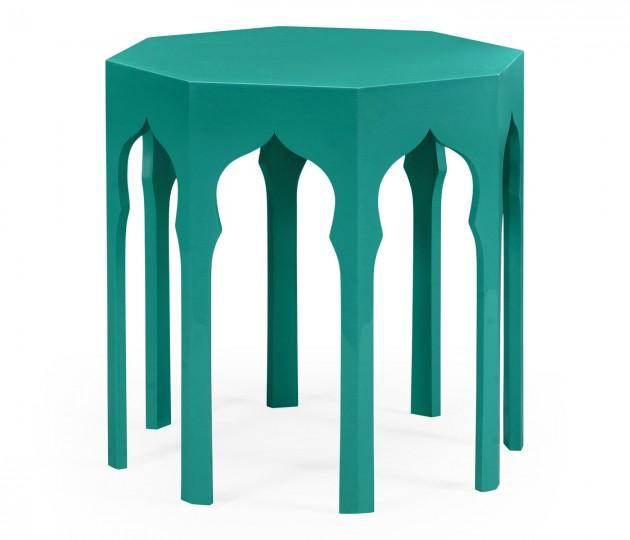 Side Table (Aruba Blue)