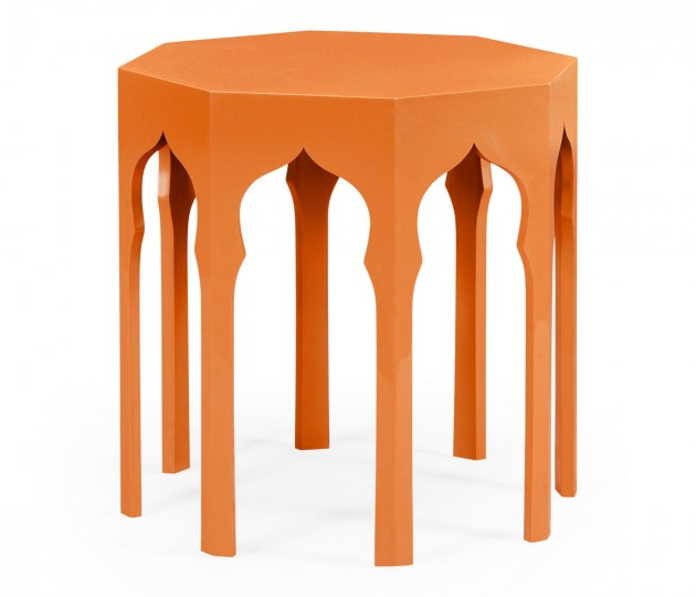 Side Table (Pumpkin Cream)