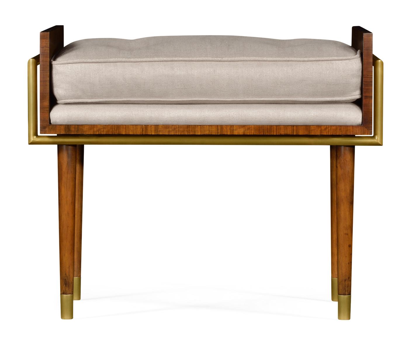 Cosmo Hyedua Stool Upholstered In Mazo