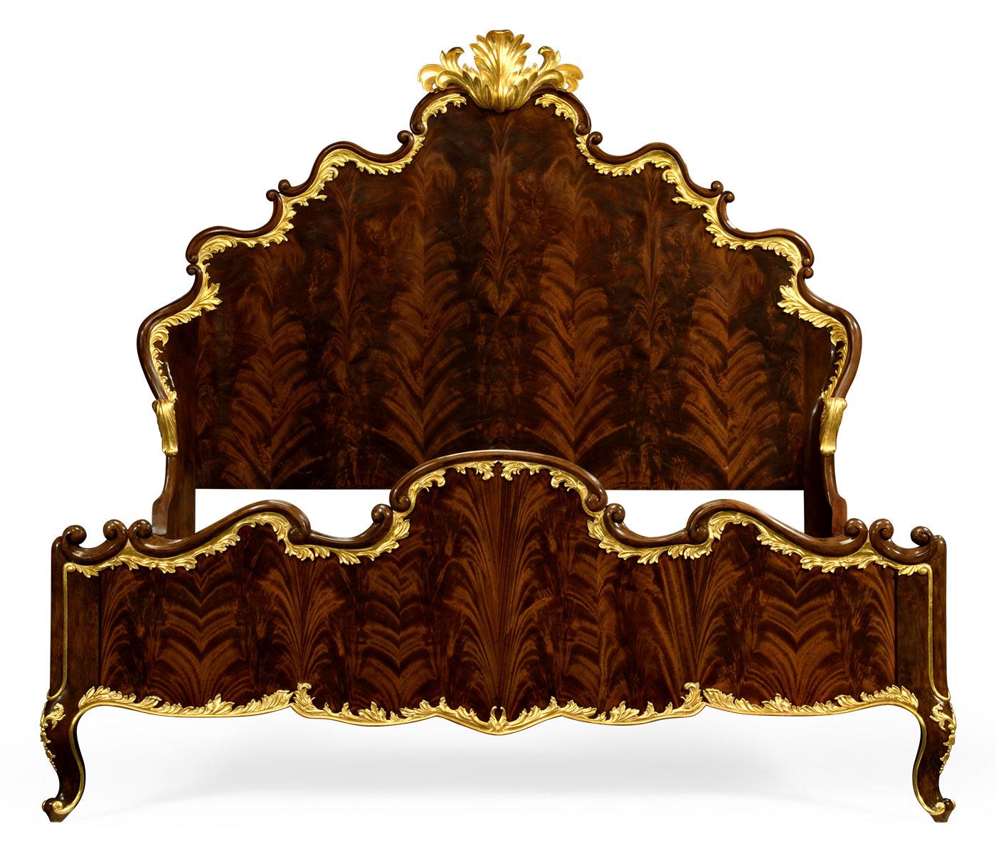 cali king high lustre mahogany