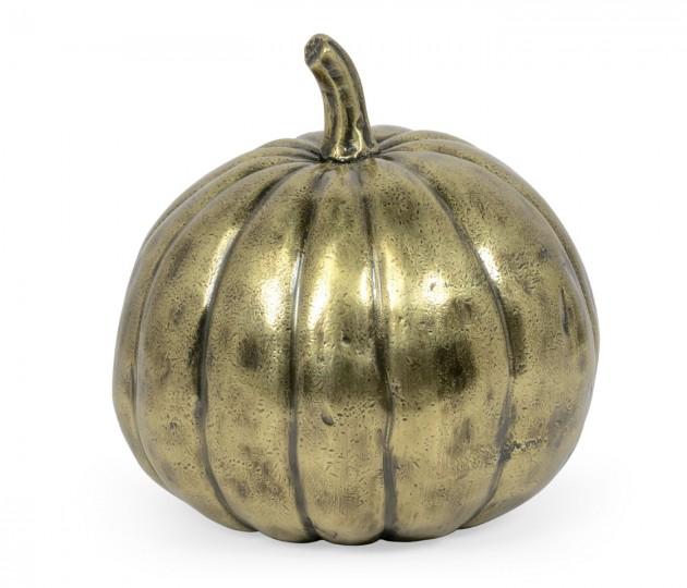 Antique Brass Pumpkin