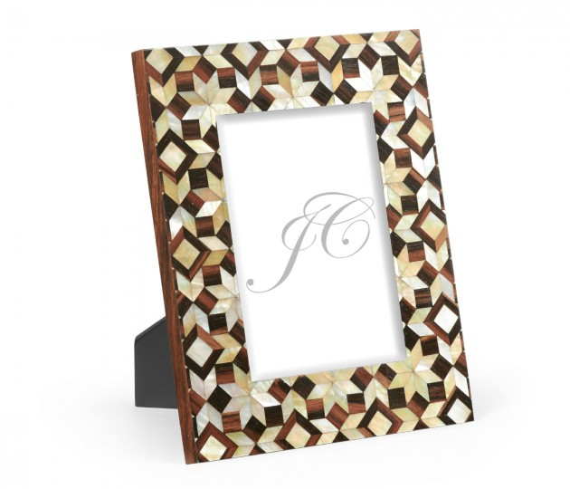 5X7 Portrait Mother of Pearl Mosaic Picture Frame