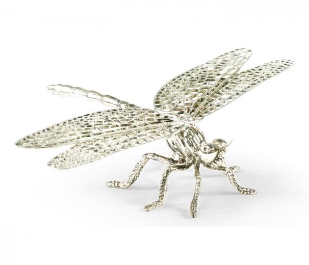 White Brass Dragonfly
