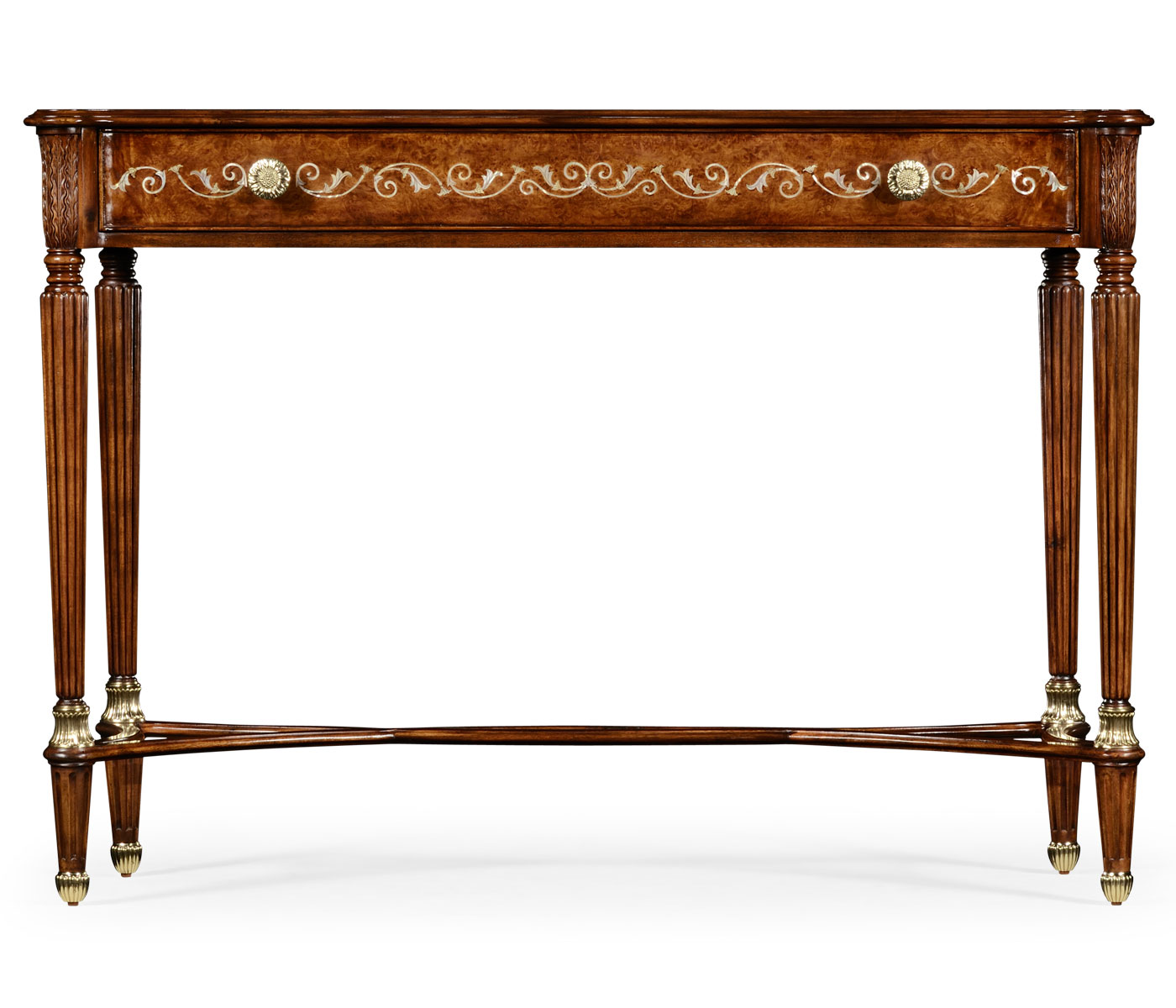 Burl mother of pearl console geotapseo Image collections