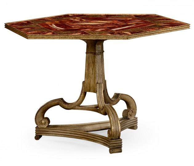 Corwen Washed Oak Centre Table
