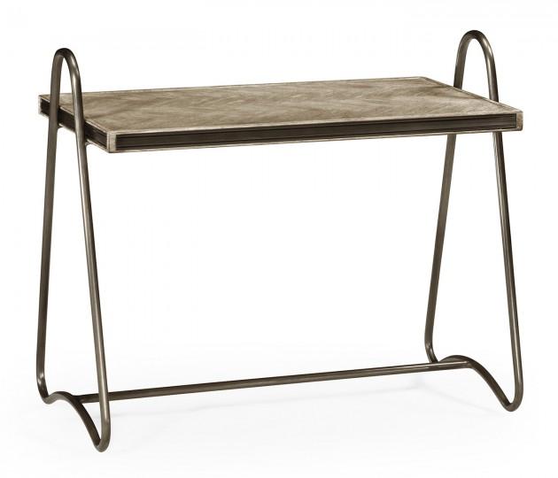 Gennesso Grey Oak Side Table