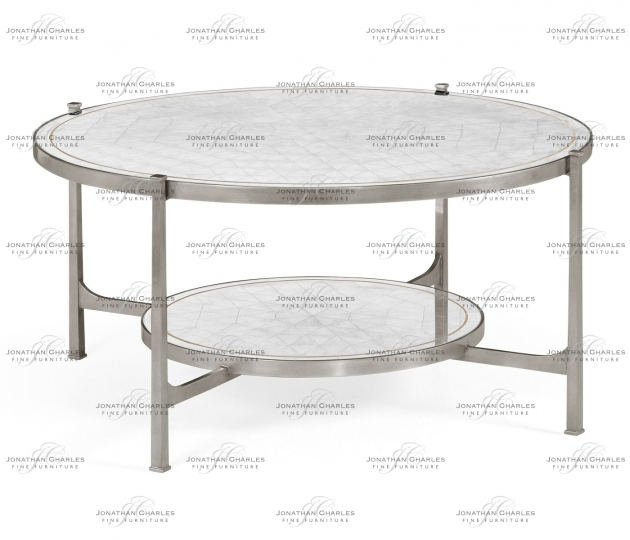 6bfd9fbf36199 small rushmore Églomisé Glass Silver Coffee Table