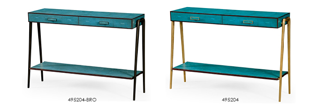 Narrow Console Table With Drawers Jonathan Charlesu0027 Luxurious Transitional  Collection Gets A Makeover!