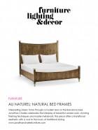 February 2021 - Furniture, Lighting & Decor - Natural Bed Frames