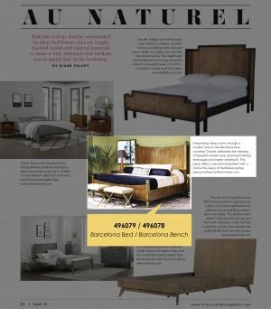 January 2021 - Furniture, Lighting & Decor