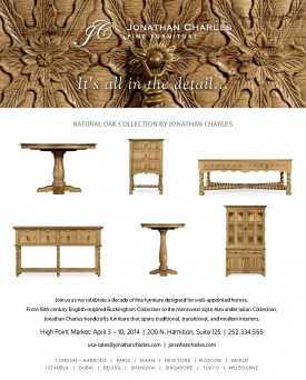 Natural Oak collection by Jonathan Charles