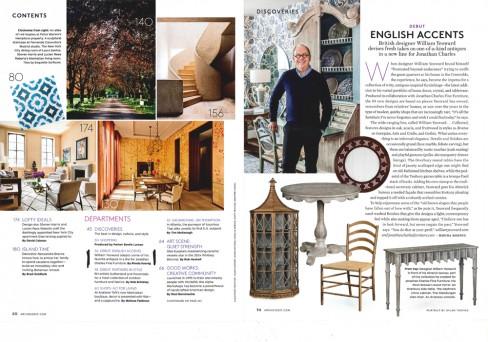 Artchitectural Digest - April 2014