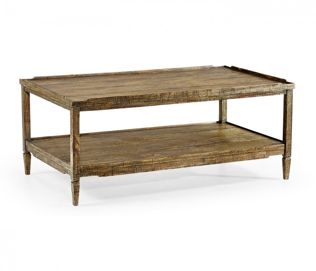 Casual Distressed Coffee Table