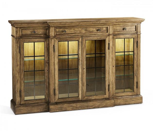 Four Door China Display Cabinet