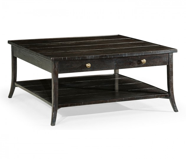 Square Coffee Table in Dark Ale