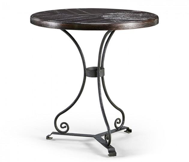 Dark Ale Style Parquet Table