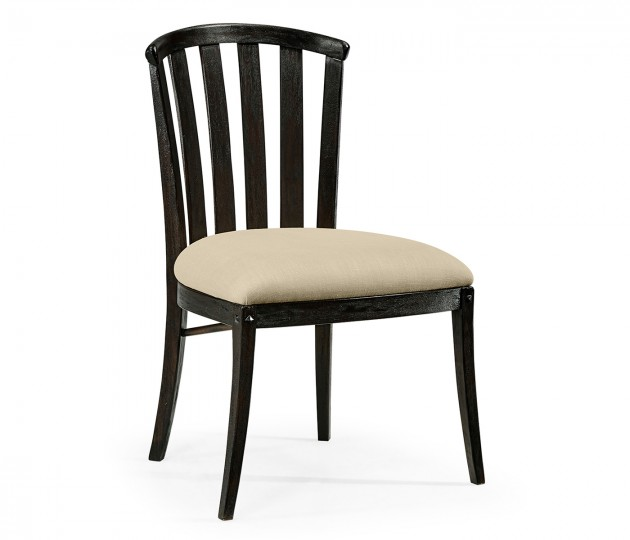 Casual Curved Back Side Chair