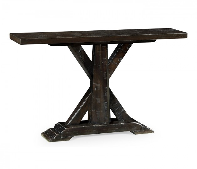 Casual Rectangular Console Table