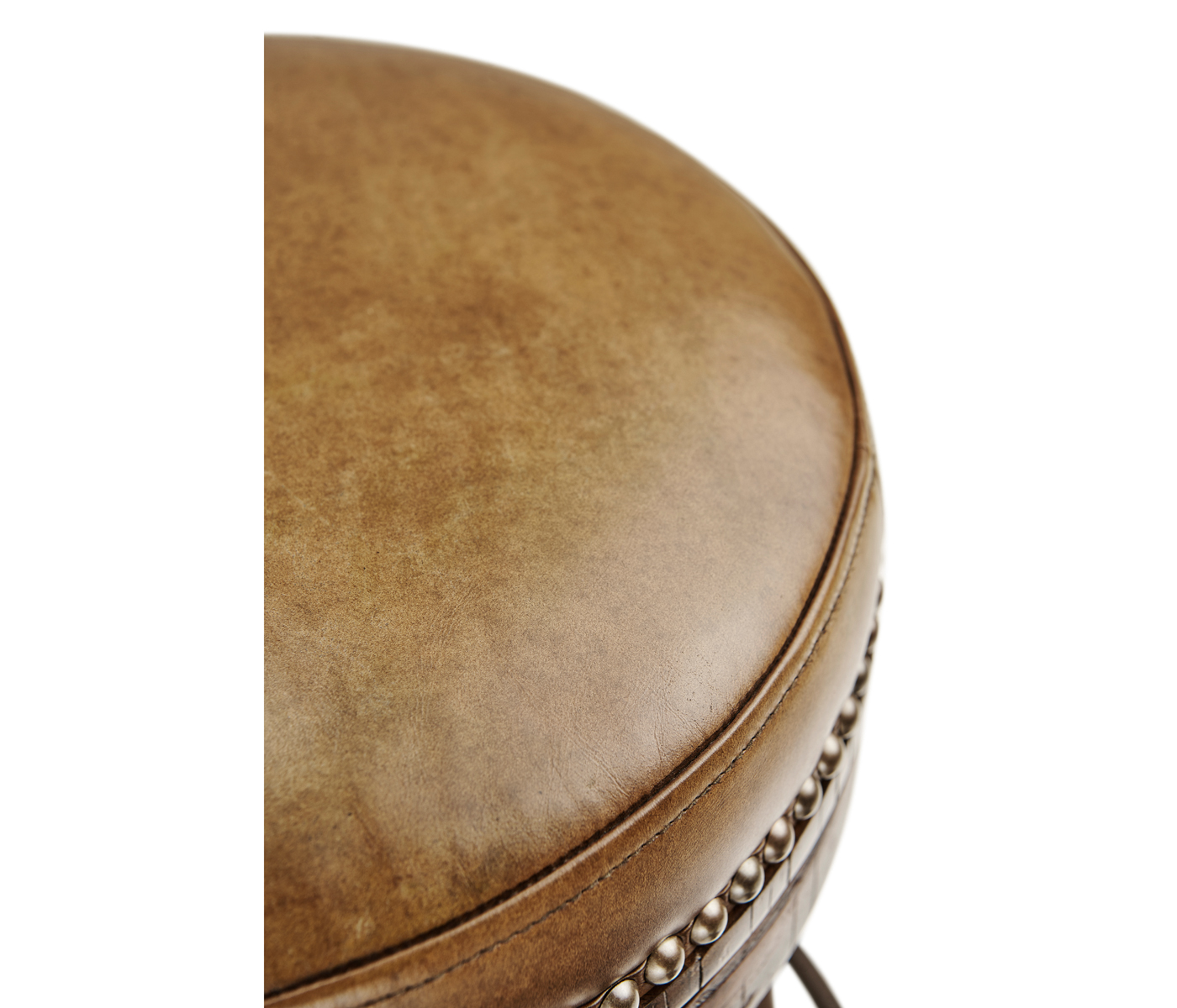 Admirable Country Style Walnut Iron Bar Stool With Antque Chestnut Machost Co Dining Chair Design Ideas Machostcouk