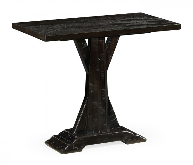 Dark Ale Rectangular Side Table