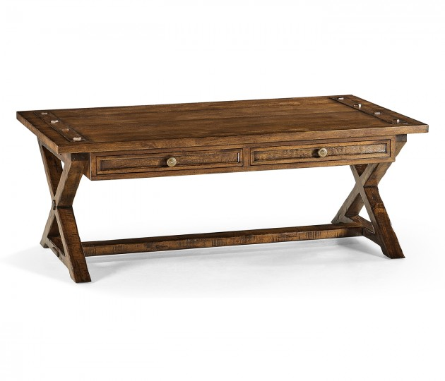 Casual Rectangular Coffee Table