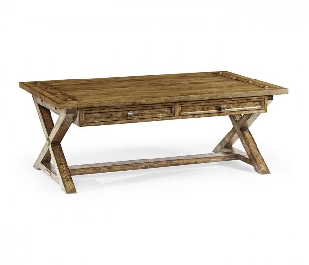 Casual Rectangular Coffee Table