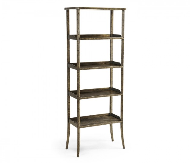 Dark Driftwood Four-Tier �tag�re