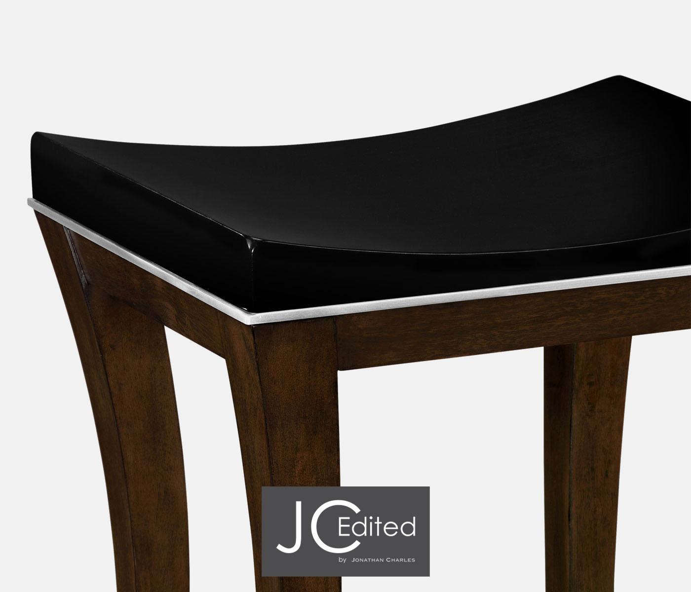Enjoyable American Walnut Counter Stool Inzonedesignstudio Interior Chair Design Inzonedesignstudiocom