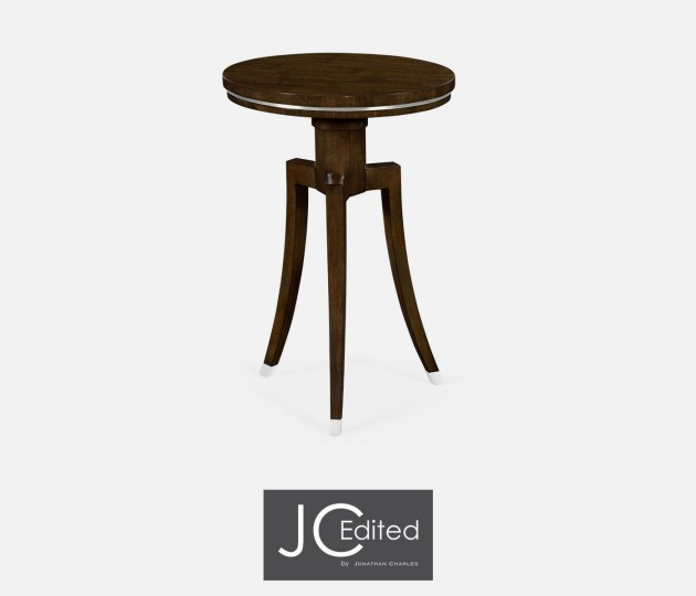 Round Wine Table in American Walnut