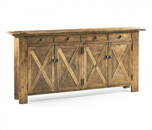 Medium Driftwood Narrow Sideboard