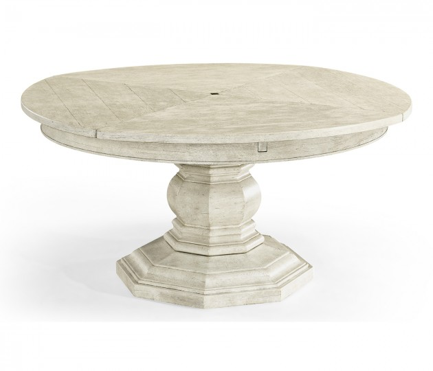 Casual Dining Table with Self-Storing Leaves