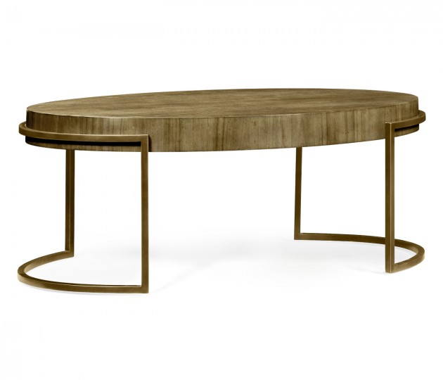 Chestnut Oval Coffee Table