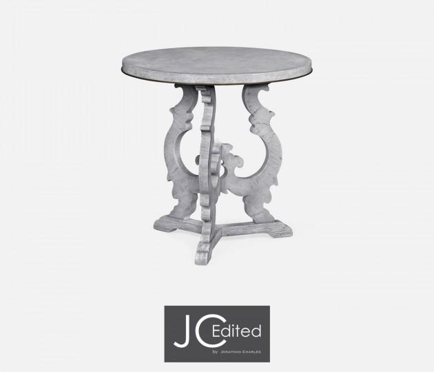 Grey Mahogany End Table