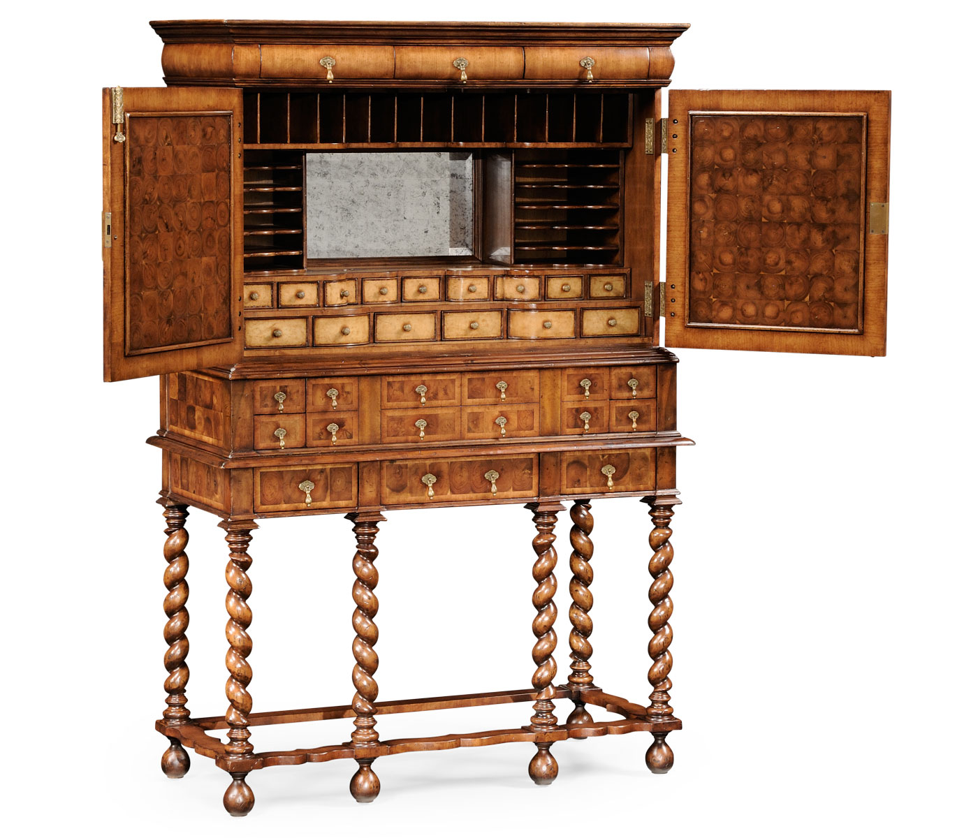 how many members are in the cabinet william amp walnut amp oyster secr 233 taire cabinet 16692