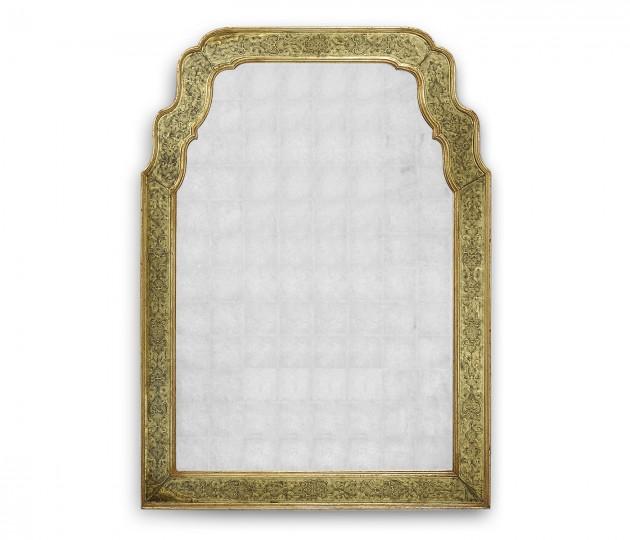 Gold �glomis� mirror