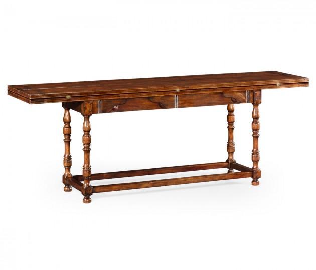 Large Walnut Hunt Table