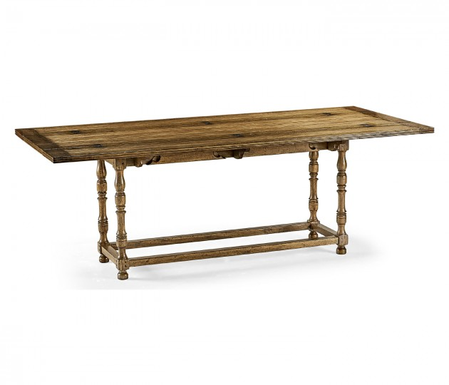 Large Walnut Hunt Table