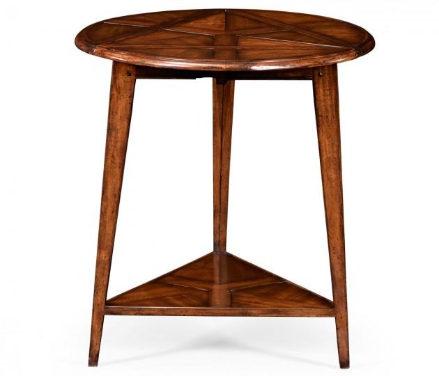 Walnut Cricket Table