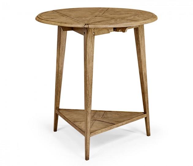 Light Driftwood Cricket Table