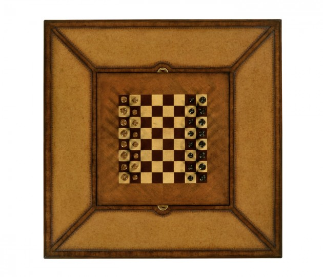 Square Games Table (Walnut)
