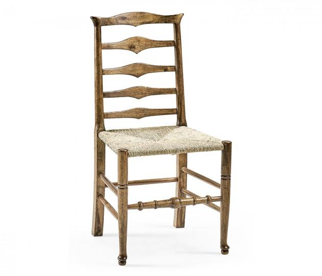 Triangular Ladderback Side Chair