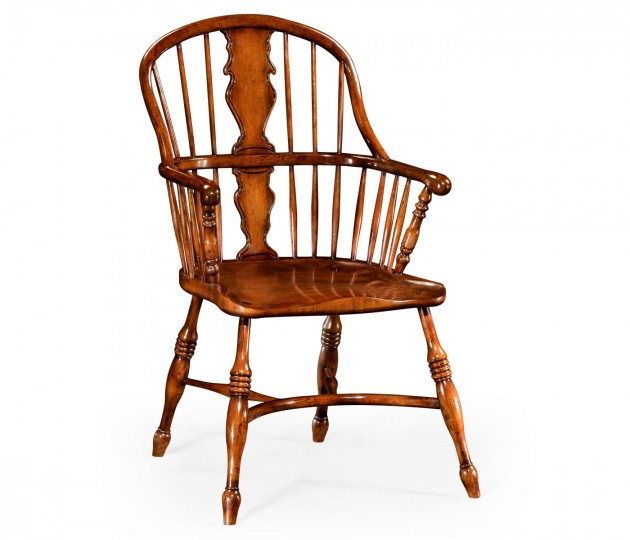 Windsor chair with splat back (Arm)
