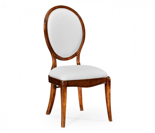 Spoon Back Upholstered Dining Chair (Side)