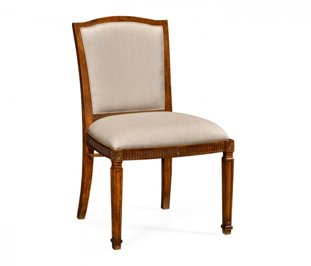 Upholstered Chair with Classical Form (Side)