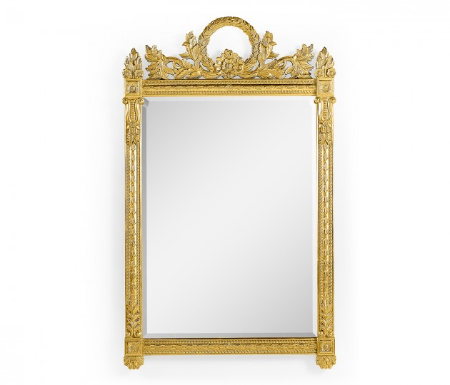 Empire Style Gilded Mirror