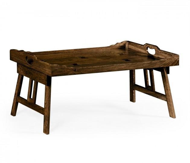 Tudor Oak Breakfast Tray