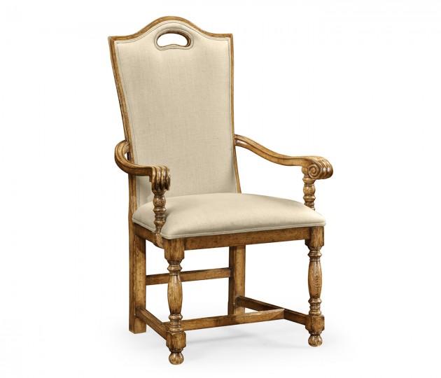 Casual High Back Arm Chair